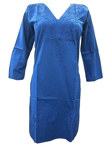 Boho Chic Designs -  Vestito  - Tunica - Maniche a 3/4 - Donna