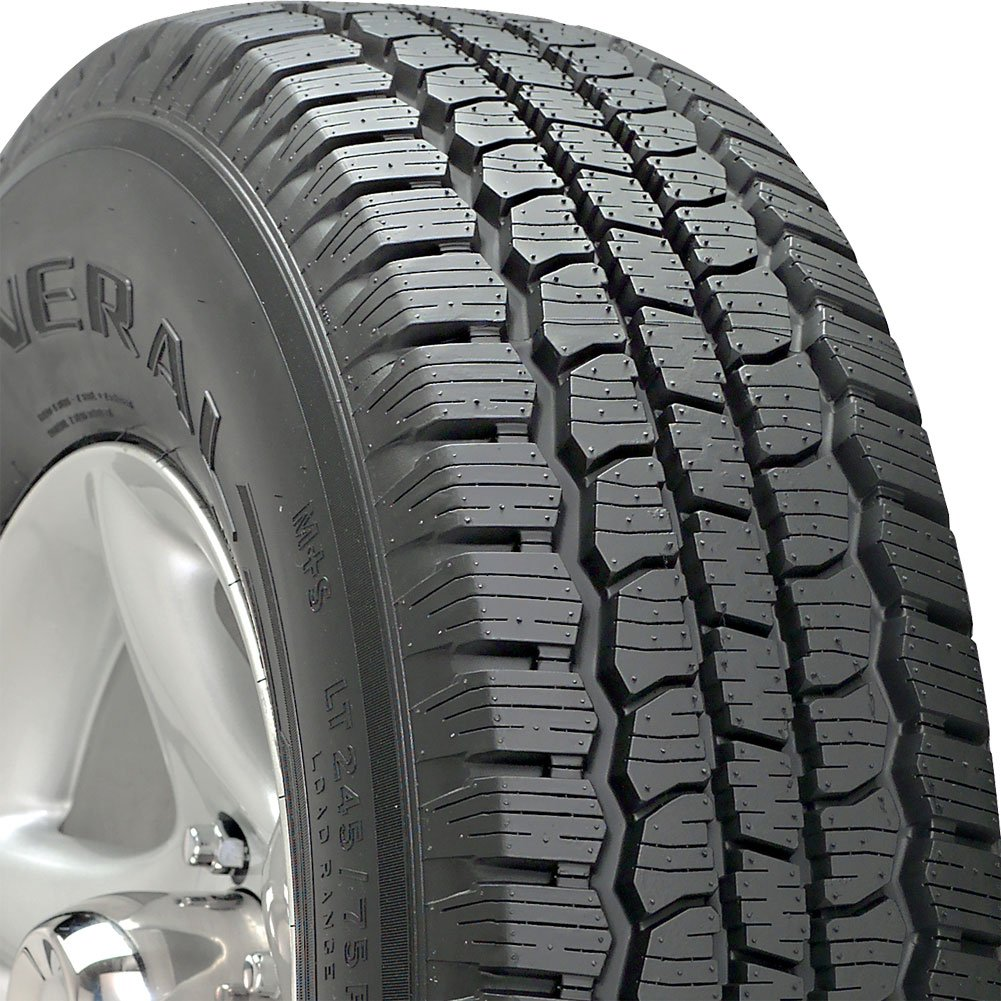 General AmeriTrac TR All-Terrain Tire - 255/70R17 110S General Tire 15448240000 BWT - C071