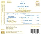 Holst: Beni Mora / Somerset Rhapsody