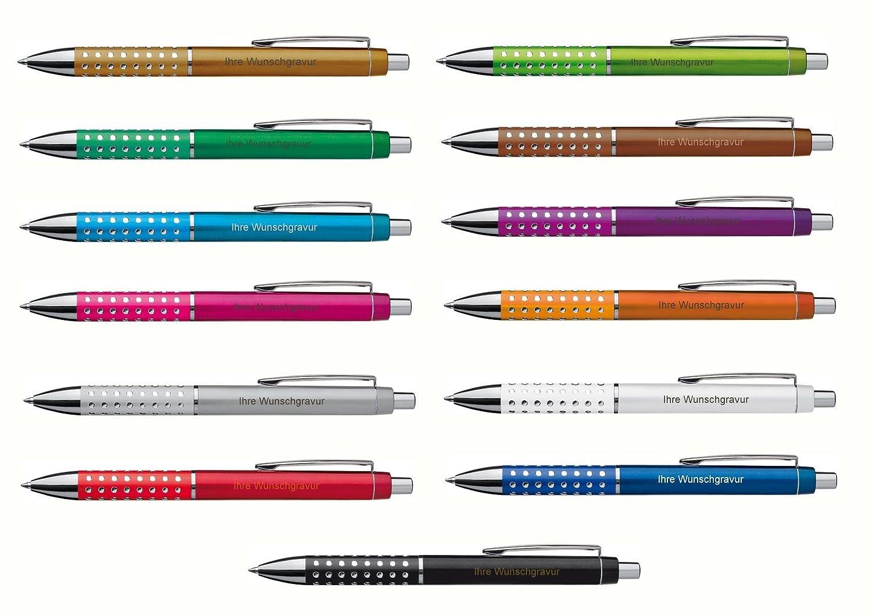 """13 Kugelschreiber /""""Glitzer/"""" 13 verschiedene Farben"""
