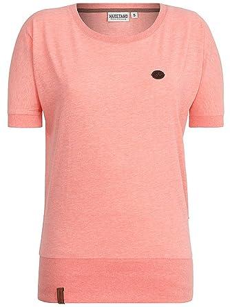 Naketano Damen T-Shirt Baunxxx Wit It II T-Shirt  Amazon.de  Bekleidung 0a9a5b7c37