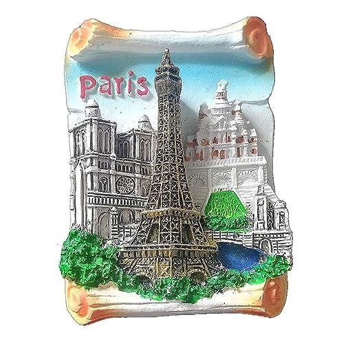 MUYU Magnet Notre Dame de Paris - Imán para Nevera, diseño de ...