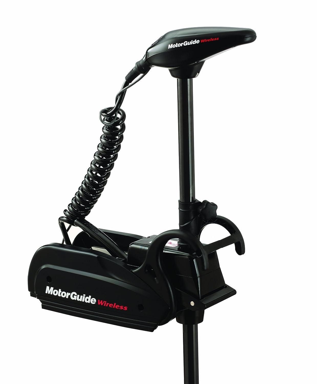 Motorguide W75 Wireless Digital Series Electric Steer Wiring Diagram Bow Mount Trolling Motor 60 Inch Black Finish Sports Outdoors