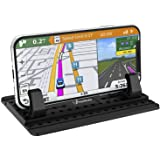 Cell Phone Holder for Car, AONKEY Dashboard Car Pad Mat Vehicle GPS Mount Universal Fit All Smartphones, Compatible iPhone Xs