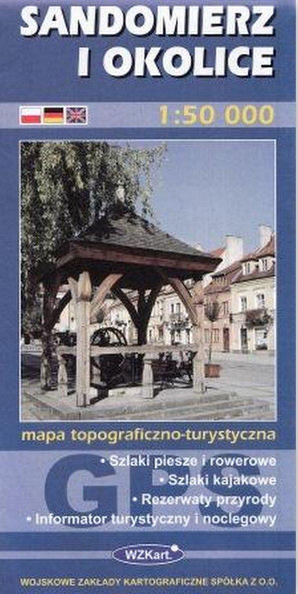 Sandomierz i okolice mapa 1:50 000: Amazon.es: Libros en idiomas extranjeros
