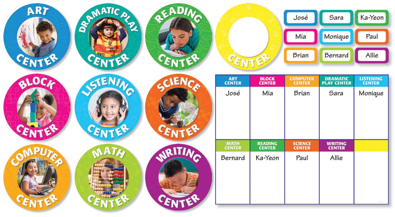 Classroom Center Signs Bulletin Board Teacher' s Friend TF8412 Teaching Methods & Materials - General EDUCATION / General EDUCATION / Teaching Methods & Materials / General NON-CLASSIFIABLE Non-Fiction Novelty OVERSIZED BOOKS