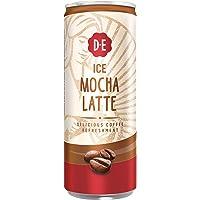 Douwe Egberts IJskoffie Ice Mocha Latte, Koffie met Melk en Zachte Mokka Smaak (12 Blikjes, 100% Arabica Koffie, Ice…