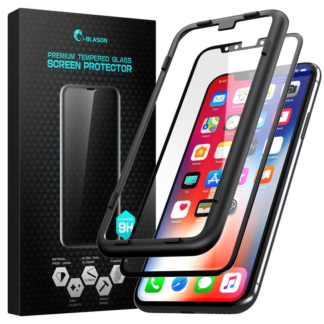 iPhone X Folie, i-Blason Premium Schutzfolie HD: Amazon.de: Elektronik