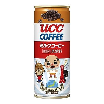 UCC ミルクコーヒー ご当地キャラ 缶コーヒー (関西バージョン) 250ml×30本プライム会員送料込1,484円(49.5円/本)