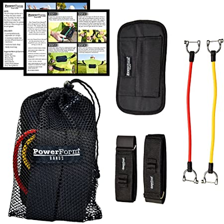 PowerForm Bands Golf Training Aid Strength and Swing Trainer