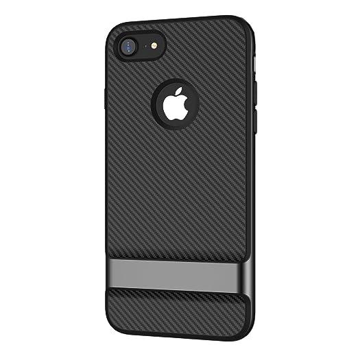 JETech Custodia iPhone 8 e iPhone 7 Doppio Strato Protettivo Cover