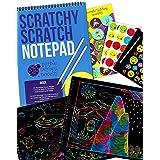 Rainbow Scratch Paper Art Kit for Kids: 20 BIG...
