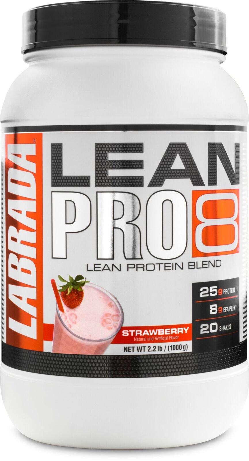 Amazon.com: Labrada Nutrition Lean Pro 8, Super Premium Protein Powder with Whey Isolate