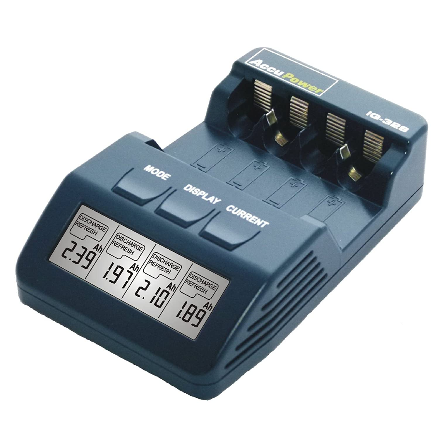 Accupower Iq 328 Battery Charger Analyzer Tester Aa Aaa 200ma Hour 8211 12v Nicad Nimh Nicd Electronics