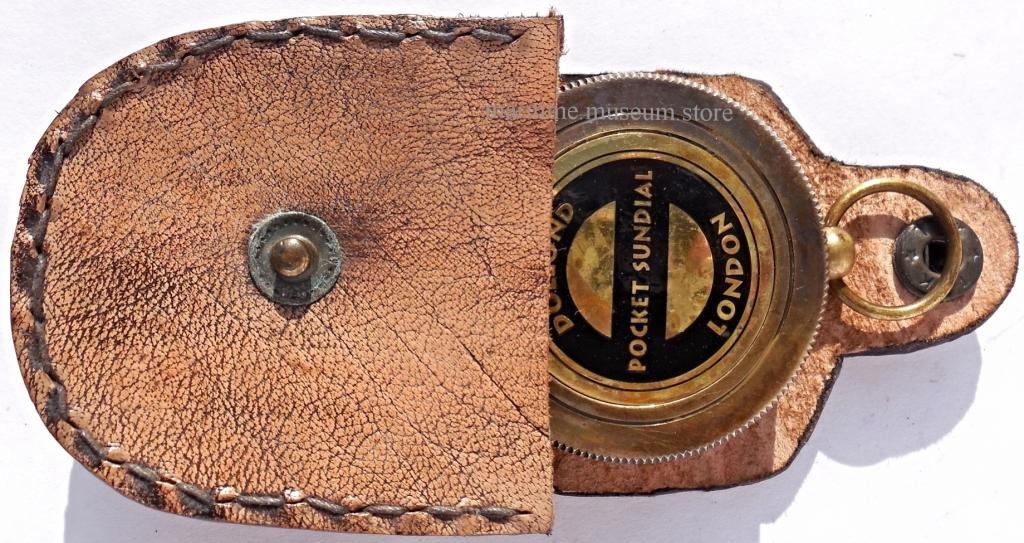 MAH Pocket Brass Sundial Compass, Both Side Work on The Bird. C-3005 by MAH (Image #2)
