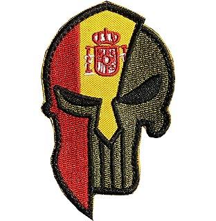 mochilas y chaquetas bordado Ohrong estilo t/áctico militar con dise/ño de calavera de /«El Castigador/» parche decorativo de tela para coser en gorras Parche de tela