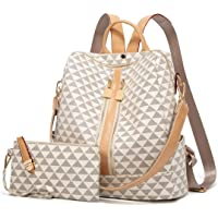 Backpacks for Women Fashion Leather Bags Satchel Bags Anti-theft Rucksack Ladies Travel Bags Handbags and Purses Bags…