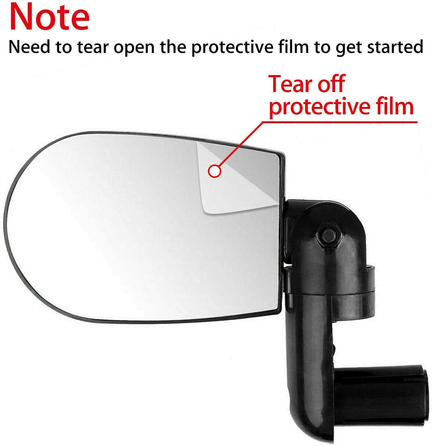 MAYOGA Bike Mirrors,Bicycle Rotary Rear View Mirror for Handlebars End Safety Bar End Cycling Mirrors