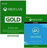 6 Monate Xbox Live Gold + 12 Monate EA Access   Xbox One - Download Code