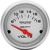 amazon com auto meter 4327 ultra lite electric oil pressure gauge auto meter 4391 ultra lite electric voltmeter gauge