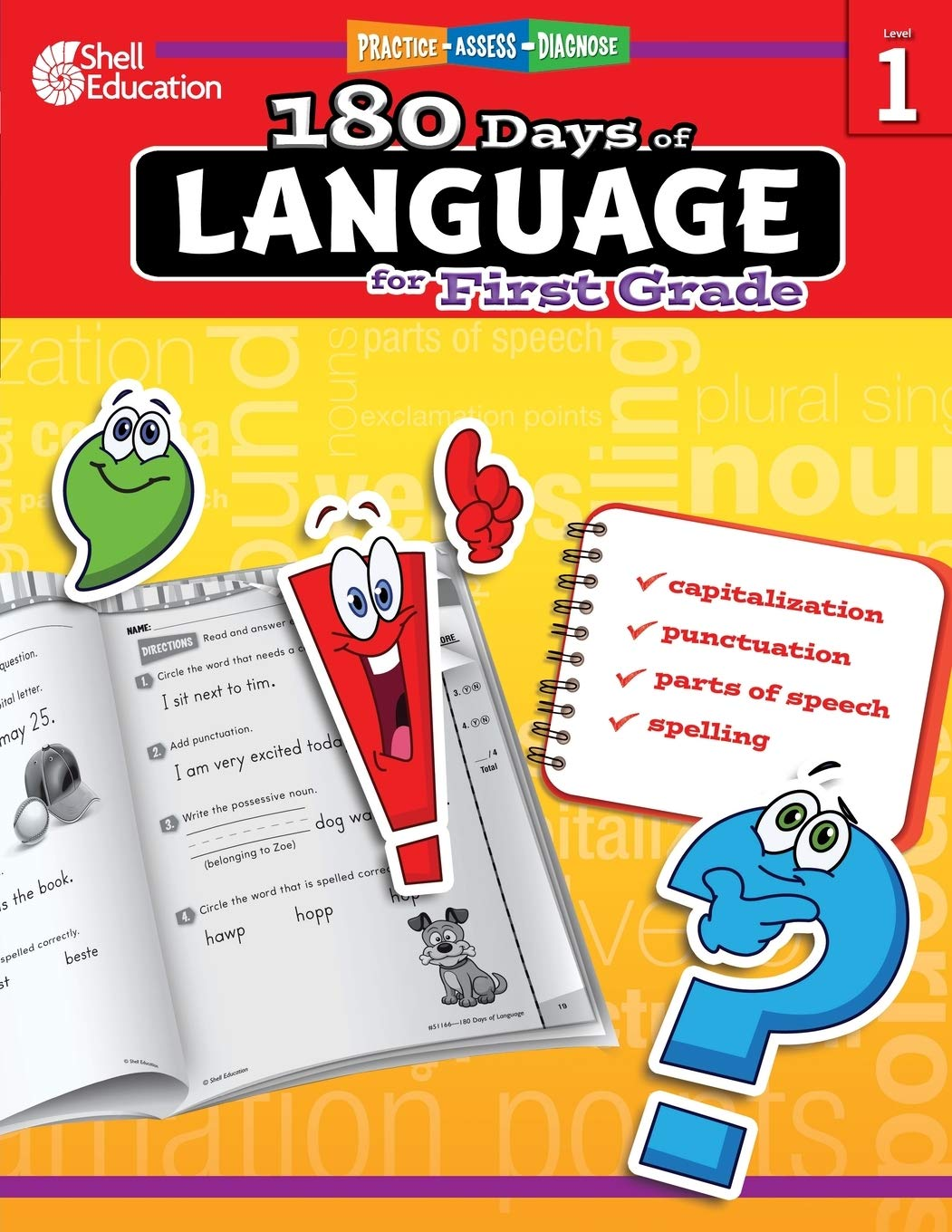 - 180 Days Of Language For First Grade – Build Grammar Skills And