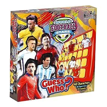 Guess Who 28424 - Mundo Estrellas de Fútbol