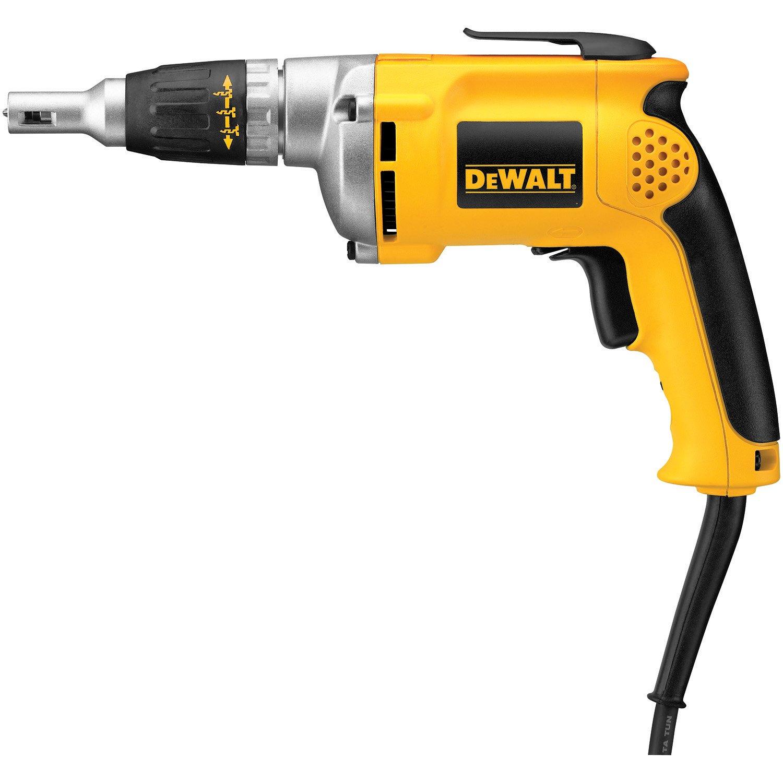 DEWALT Drywall Screw Gun, 6.3-Amp (DW272) by DEWALT