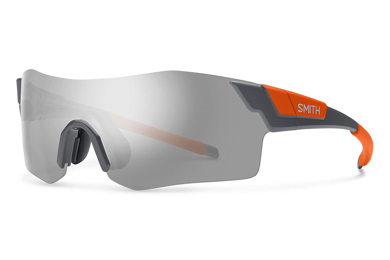 Smith ancmgymcno Herren Charcoal Neon Orange Rahmen platin Objektiv Sport-Sonnenbrille