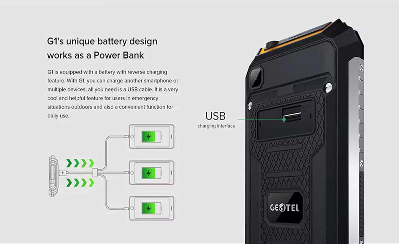 GEOTEL G1 Smartphone Libres, 5.0