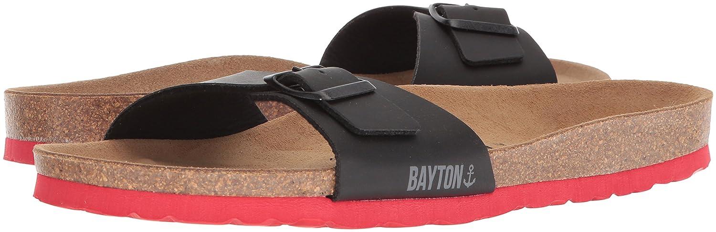 Bayton Tongs/Sandales - Ba-10403 - Taille 42 - Noir  Marron (C1696) PfpdbZ7AK