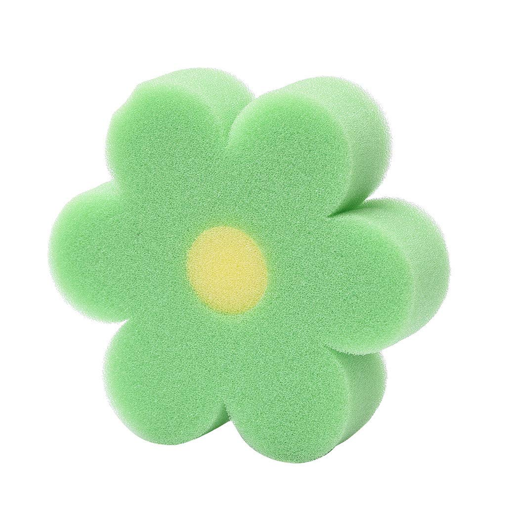 Natural Sea Sponges for Babies,Sandistore Bath Sponge Flower Shaped Comfortable Cute Body Sponges Scrubbers for Kids (H)