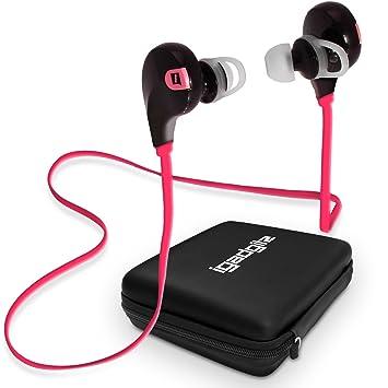 iGadgitz U3584 Dentro de Oído Binaural Inalámbrico Rosa: Amazon.es: Electrónica
