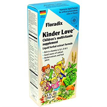 Salus-Haus - Floradix Kinder Love Childrens Multivitamin - 8.5 oz ...