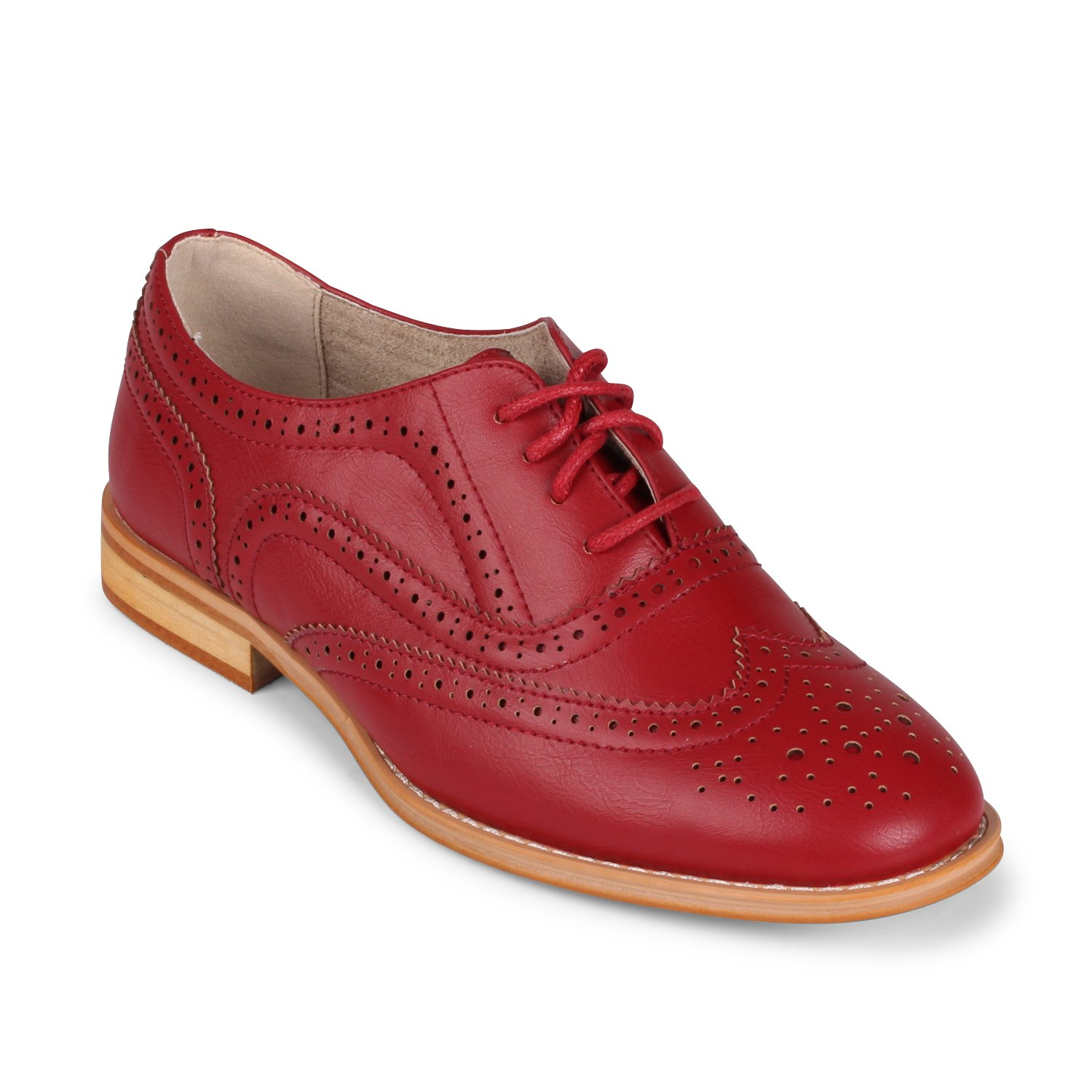 Retro & Vintage Style Shoes Wanted Shoes Womens Babe Oxford Shoe $59.99 AT vintagedancer.com