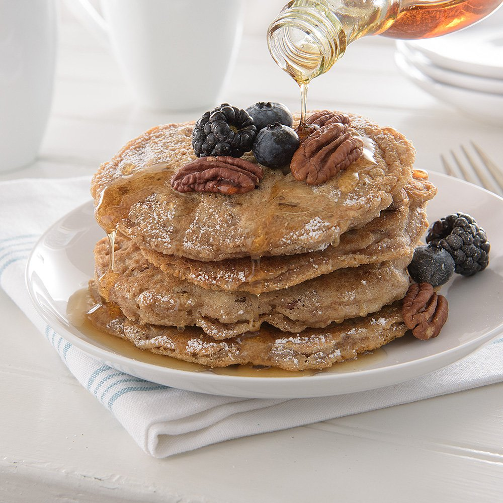 neat - Plant-Based - Cinnamon Pecan Pancakes Mix (10.8 oz.) (Pack of 6) - Non-GMO, Gluten-Free, Soy Free, Baking Mix by Neat (Image #5)