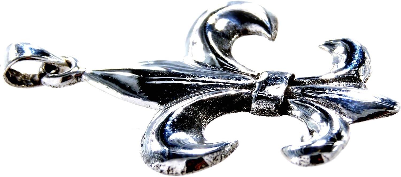 Fleur De lis Pendant in 925/Sterling Silver No 184