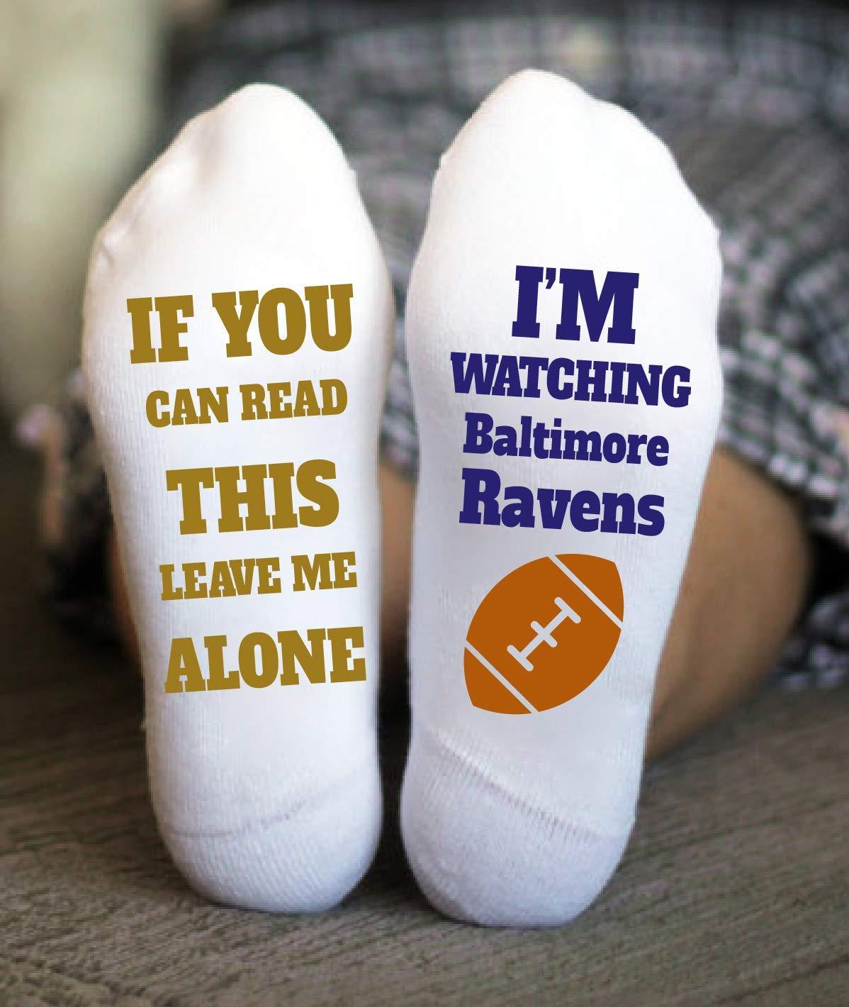 Baltimore Ravens Socks Birthday Gifts American Football Game