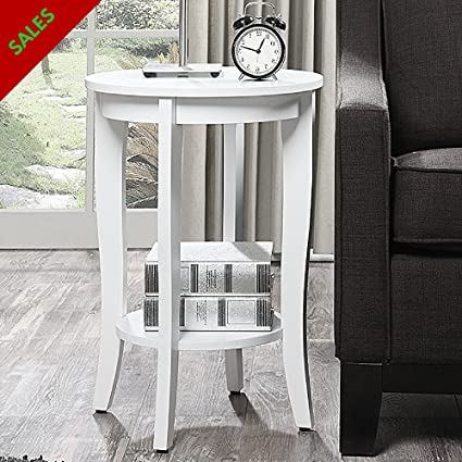 Bon End Table Bedside Table For Small Spaces Classic Design For Living Room ,  Bedroom, Nursery