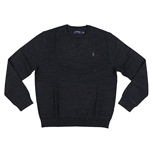 Polo Sweater Lauren Neck Pullover Crew Ralph Mens H9DWE2I
