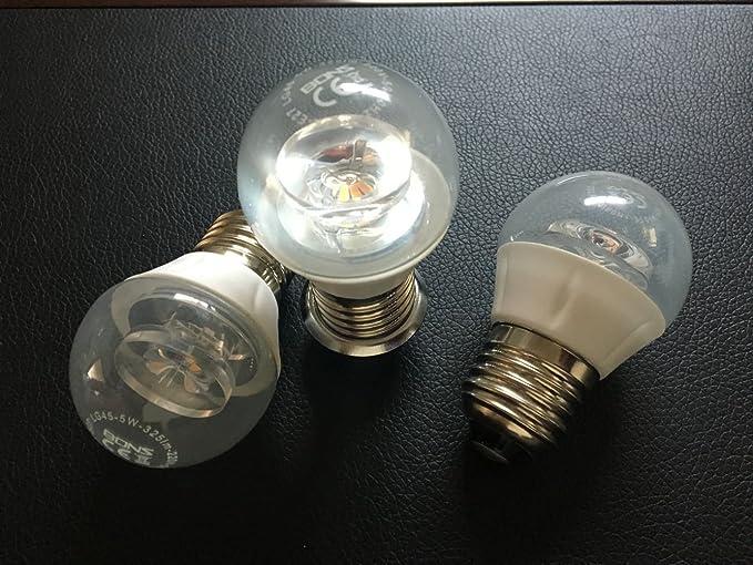 Bombilla LED de gama alta/5 W E27 bombilla LED de alta calidad con certificado CE: Amazon.es: Iluminación