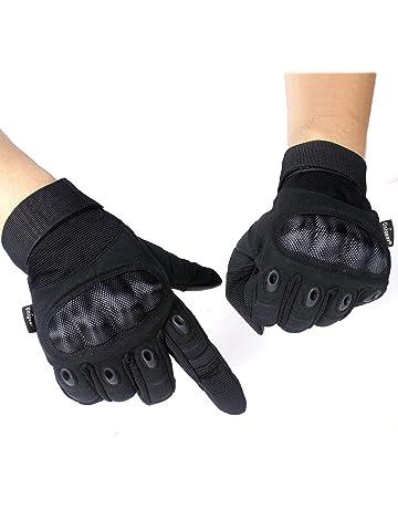 6c2ef20d2c8 Unigear Guantes para Moto Pantalla Táctil Guantes Tácticos Militares Dedo  Completo Antideslizante CE Verificada Universal para