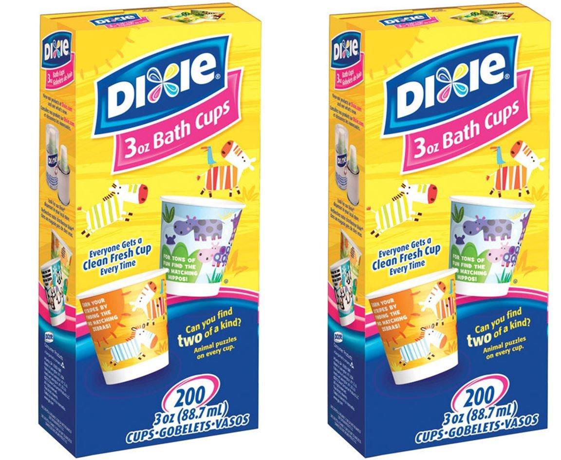 Amazon com  Dixie Bathroom Cups  3 oz 200 ea  Assorted designs   2 Pack   400 Total   Kitchen   Dining. Amazon com  Dixie Bathroom Cups  3 oz 200 ea  Assorted designs   2