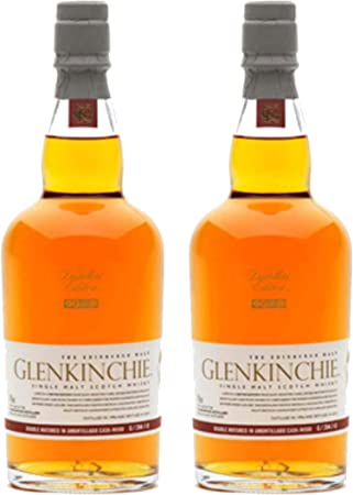 Glenkinchie 605317 - Botella de Whisky (12 años por año, 2 Unidades, 43% 200 ml)