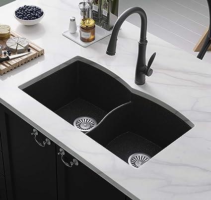 Black Kitchen Sink Lavello Subito 200U 31\