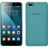 PhoneNatic Custodia Huawei Honor 4x Cover turchese trasparente Honor 4x in silicone + pellicola protettiva