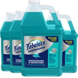 FABULOSO Professional All Purpose Cleaner & Degreaser, Ocean Cool, Concentrated Formula, Bathroom Cleaner, Toilet Cleaner, Fl