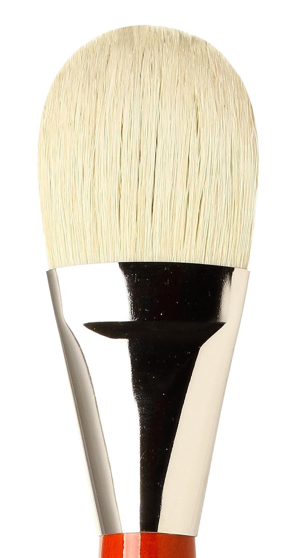 5123-30 Size 30 da Vinci Hog Bristle Series 5123 Maestro 2 Artist Paint Brush Bright Medium-Length with Red Handle