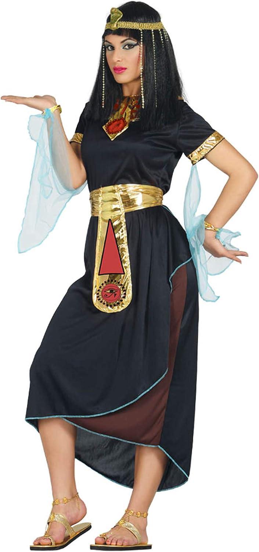 Guirca 80870 - Cleopatra Negra Adulta Talla M 38-40: Amazon.es ...