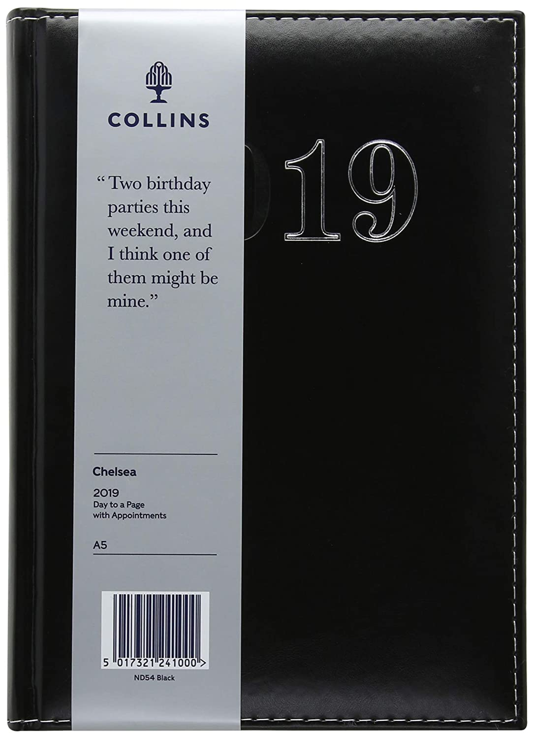 Amazon.com : Collins ND54 A5 2019 Chelsea Day to Page Diary ...
