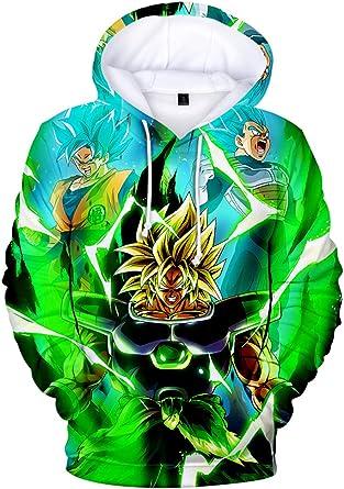 JUL Sudadera Dragon Ball Z DE Goku para Hombre.